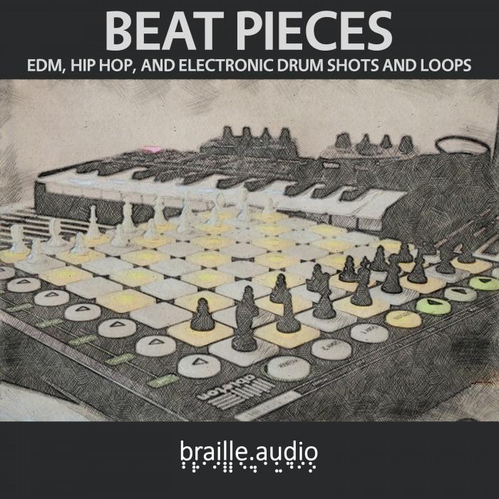 Braille Audio - Beat Pieces - Drum Samples and Drum Loops