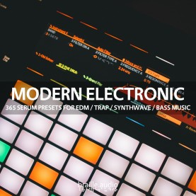 Braille Audio - Modern Electronic - 365 Serum Presets