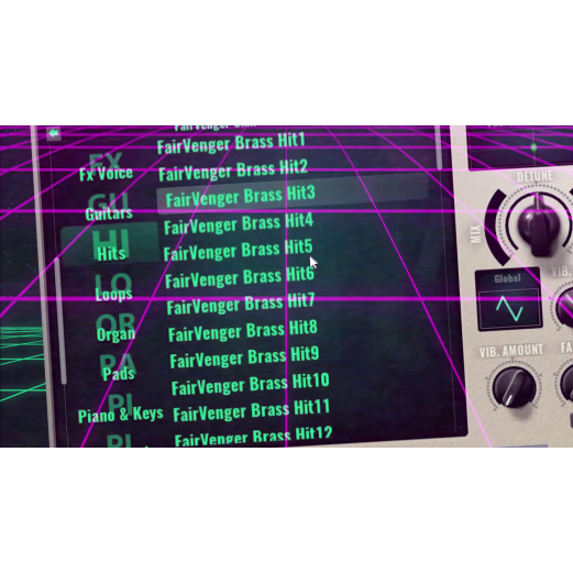 Avenger - FairVenger presets pack 2 Voices & Pads