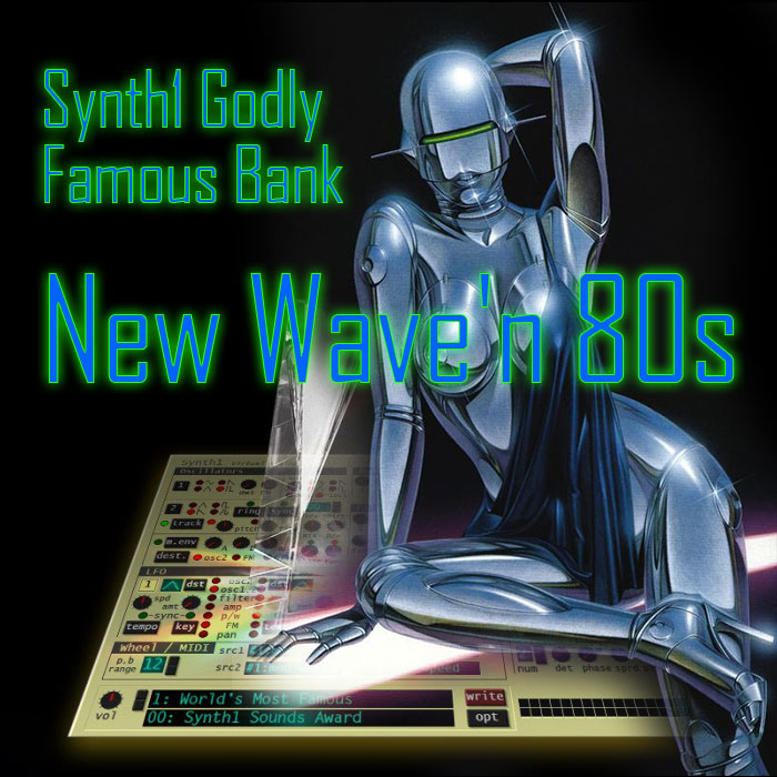 Synth1 Godly Famous Bank: New Wave'n 80s