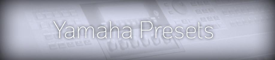 Yamaha EX5 programs